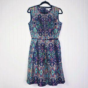 NWOT Beautiful Liz Claiborne Belted Dress!